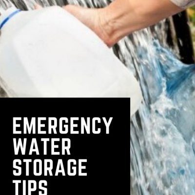 Water Storage Tips and Ideas for Emergency Preparedness