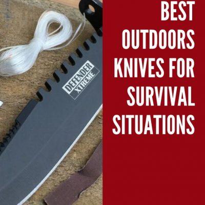 Best Survival Knife: Top 5 Picks for Outdoor Knives